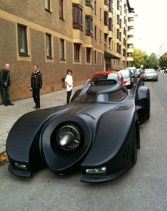 The Batmobile Is The Batmans Primary Mode Of Transportation At - Really awesome cars