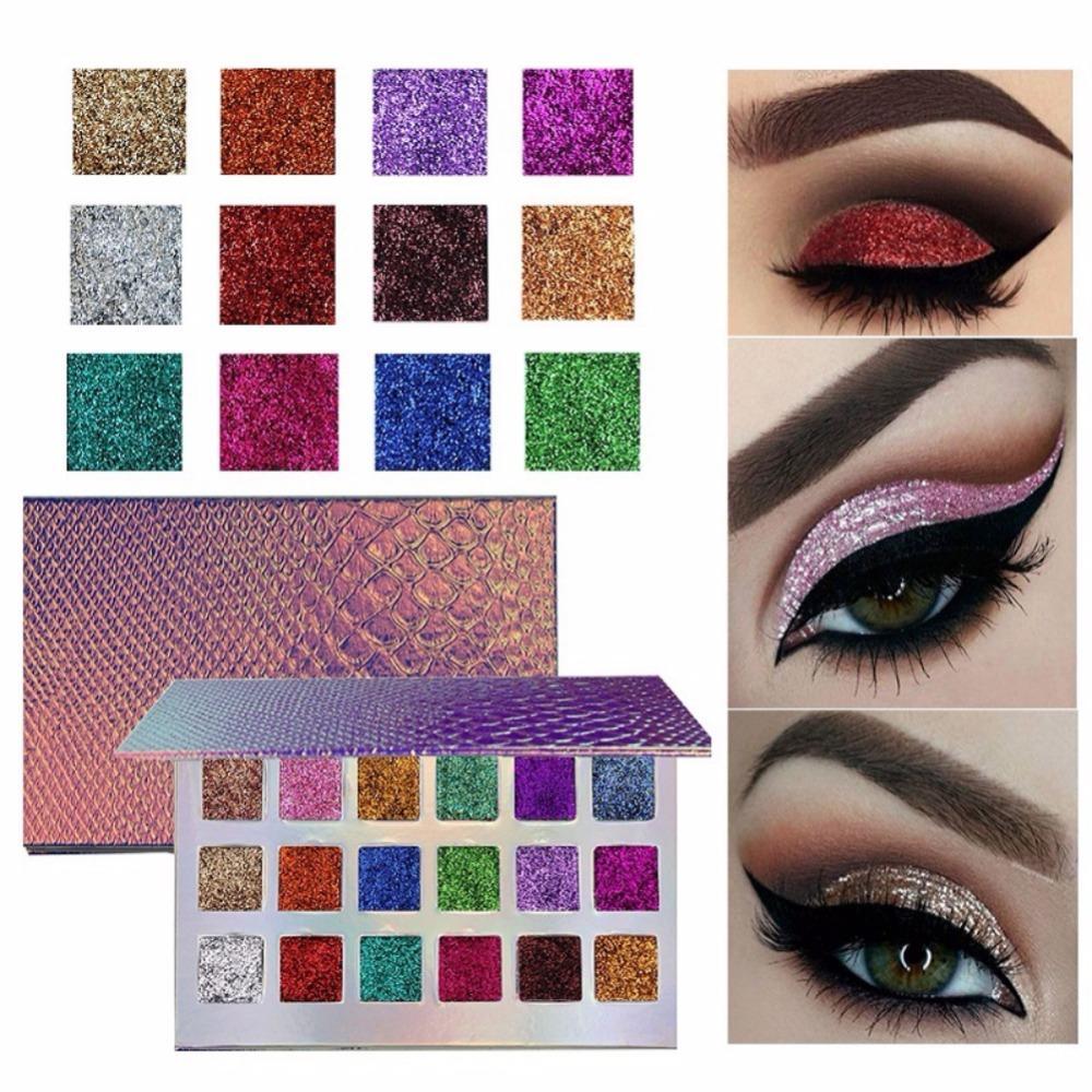 Mermaid Glitter Eyeshadow Palette Limited Time Offer