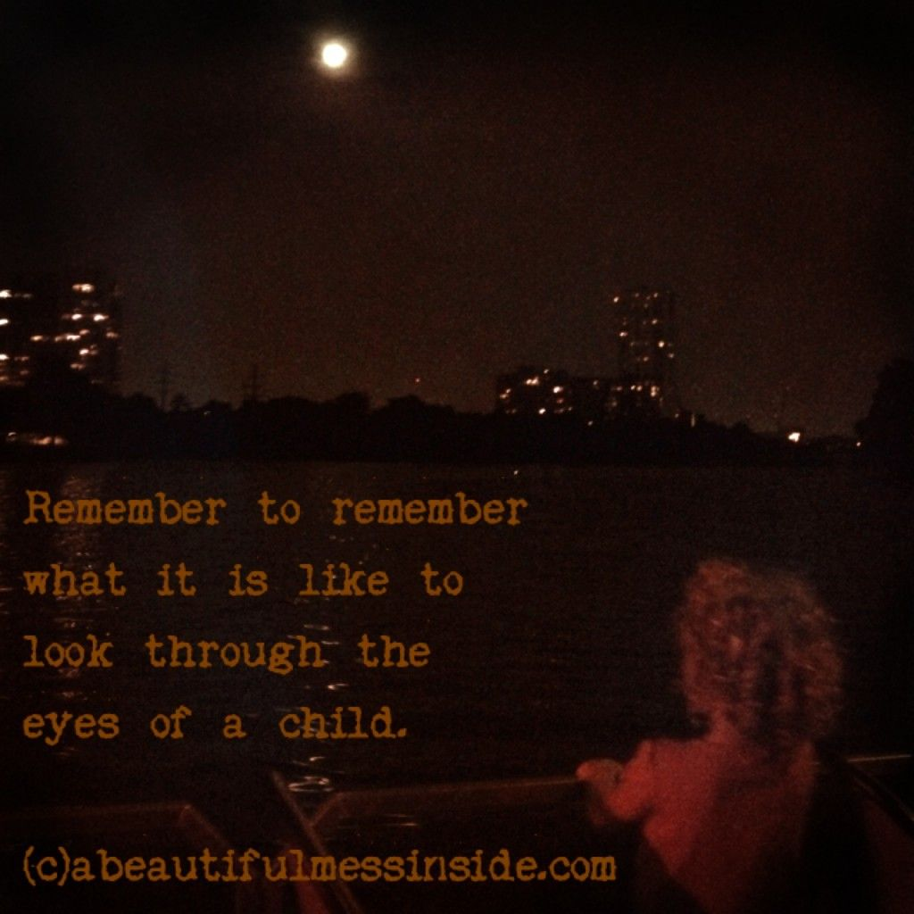 Look At Life Through The Eyes Of A Child With Innocence And Joy