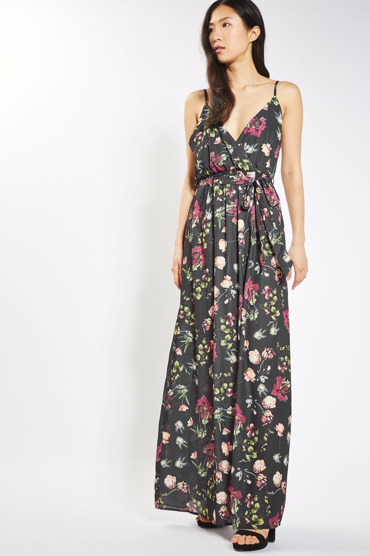 Very Wrap Split Front Maxi Dress - , Women