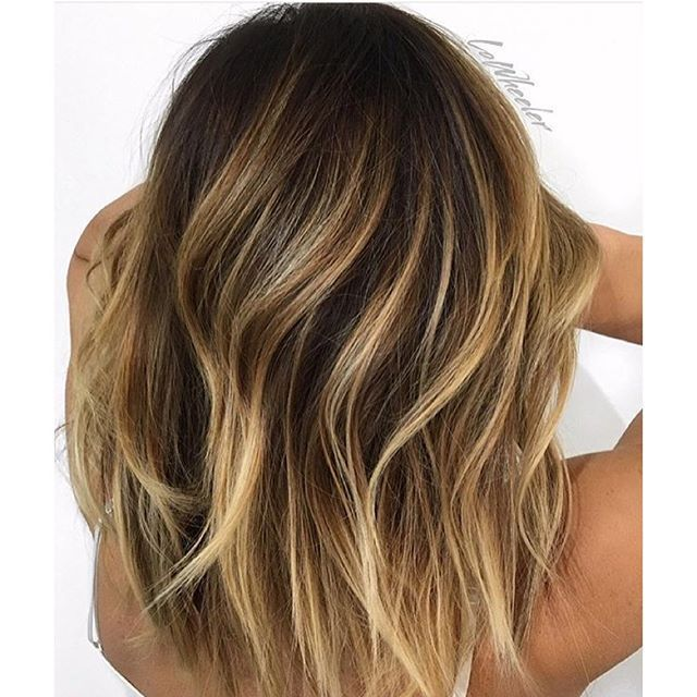 Image Result For Balayage Highlights On Dark Brown Hair H A I R