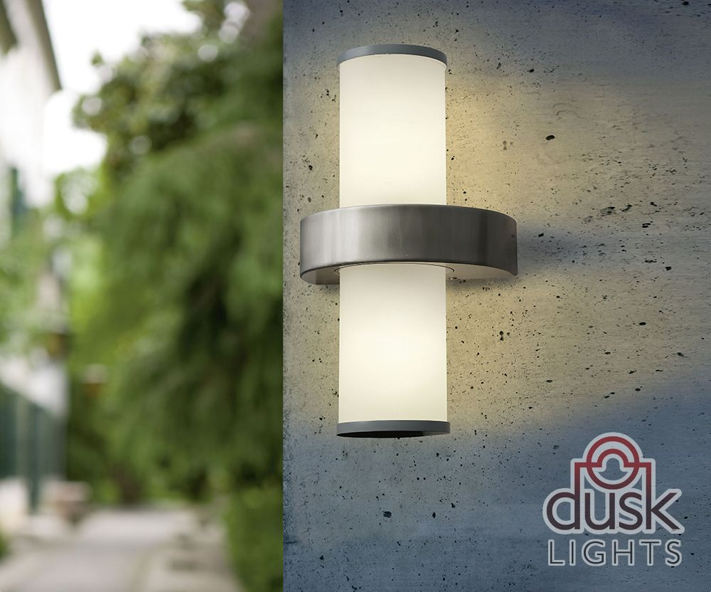 Eglo beverly outdoor ip44 stainless steel wall light eglo exterior eglo beverly outdoor ip44 stainless steel wall light workwithnaturefo