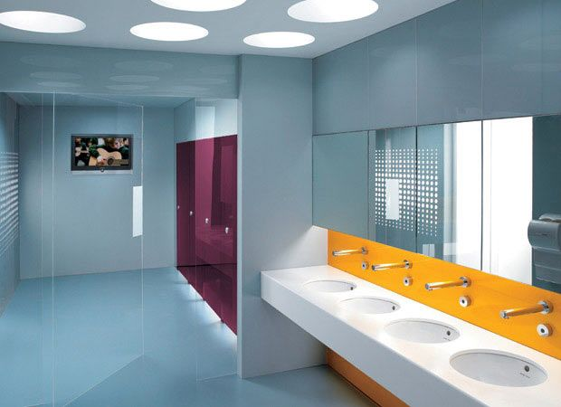 Office Bathroom Designs Pintara Finke On Restrooms  Pinterest  Toilet Washroom And