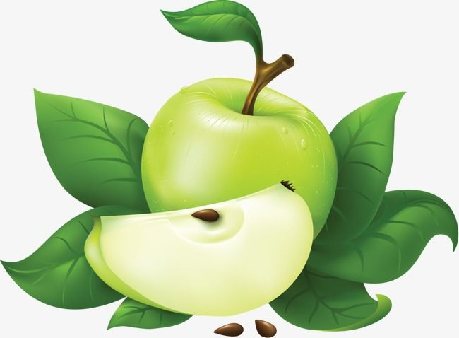 Green Apple Green Vector Apple Vector Png Transparent Clipart Image And Psd File For Free Download Apple Vector Apple Green Apple