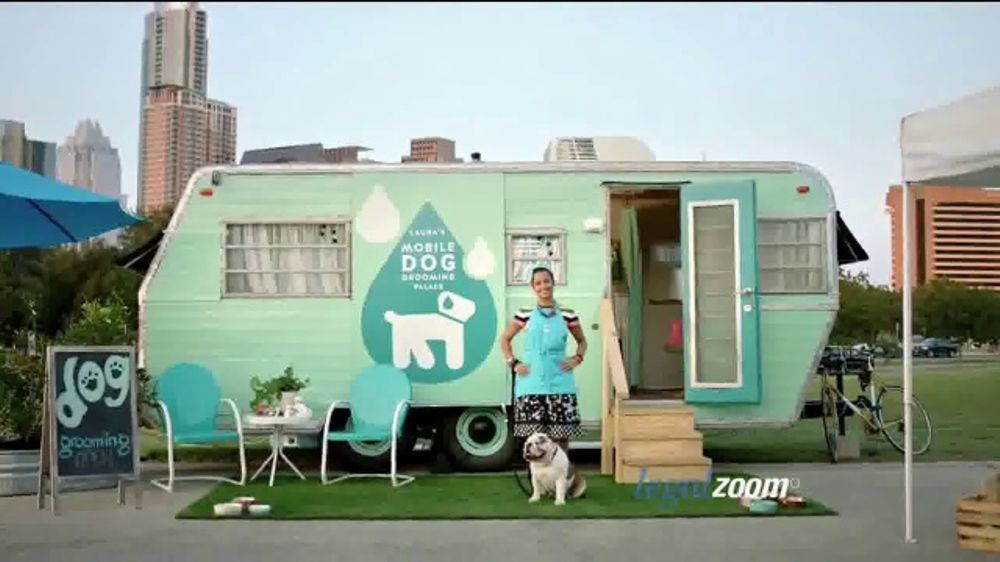 Laura Has Her Dream Career She Owns A Mobile Dog Grooming Palace