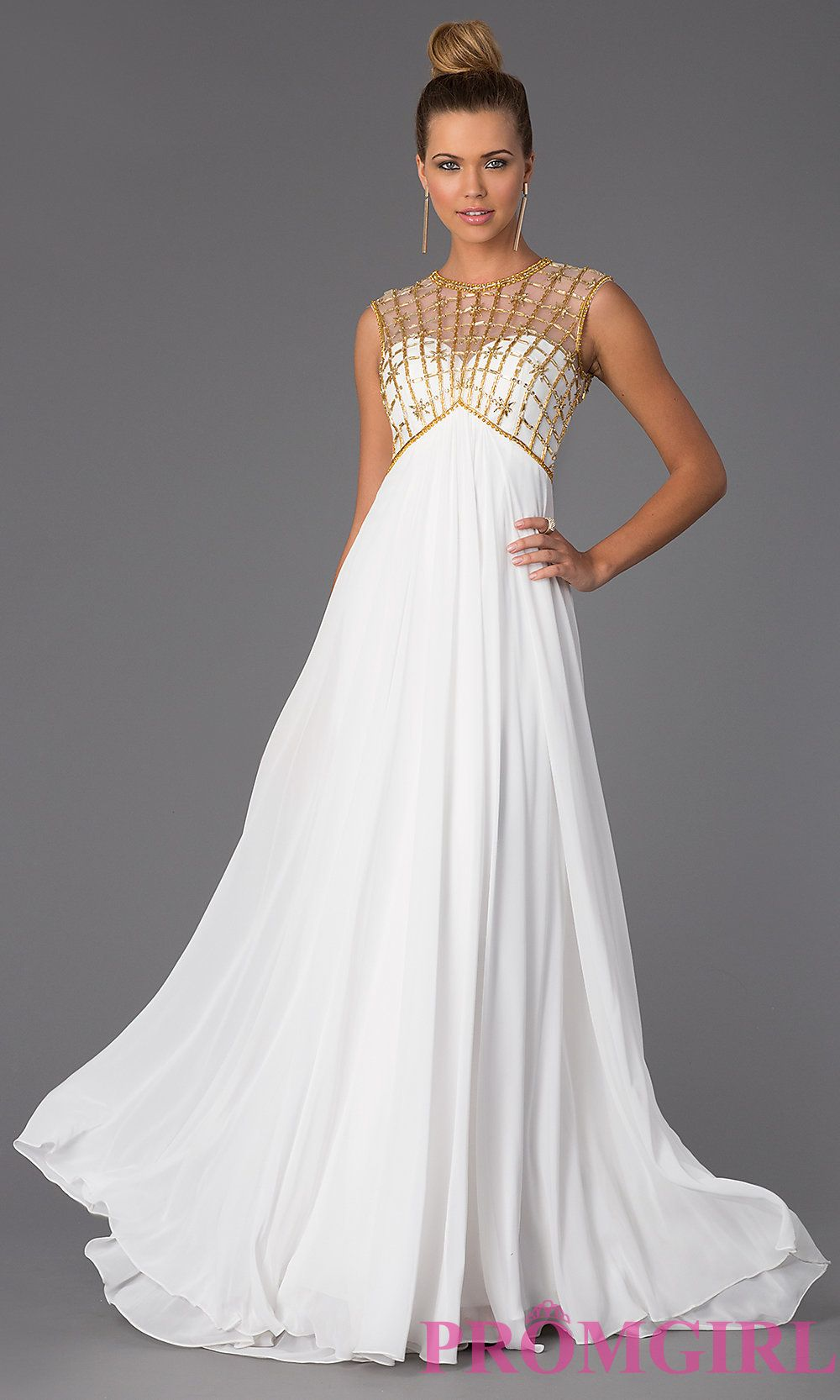 Prom Dresses, Plus Size Dresses, Prom Shoes: High Neck Floor Length ...