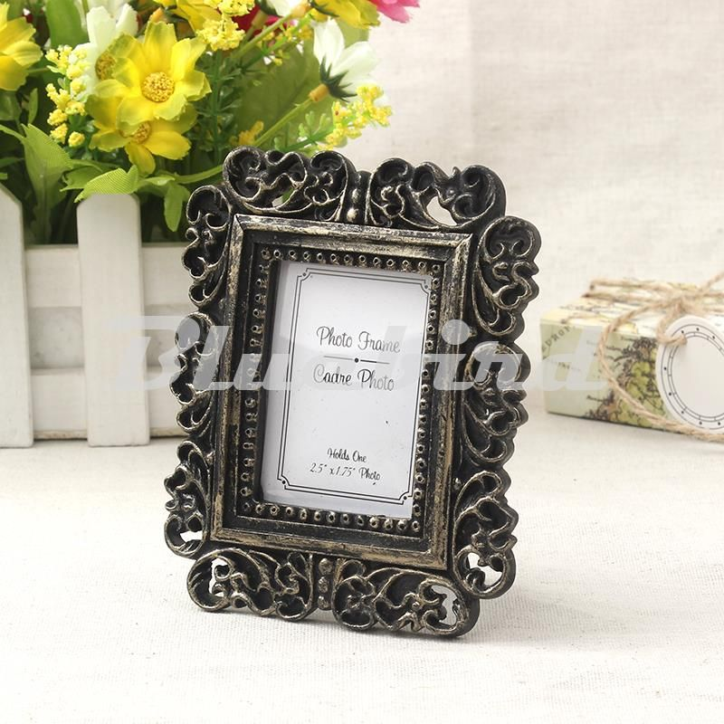 Classic Rectangle Resin Photo Fame Wedding Place Card Holder/Photo ...