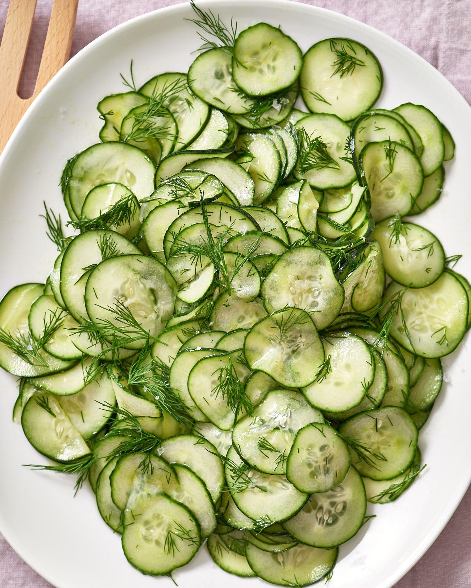 Cucumber Salad Recipes Vinegar
