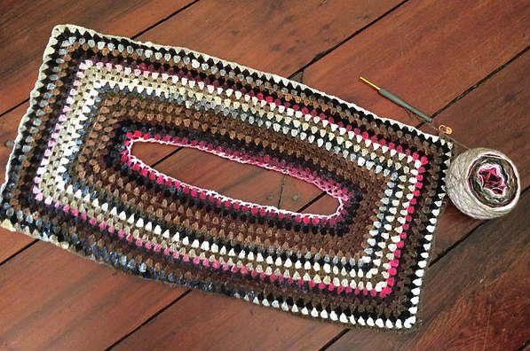 Tejer blusa crochet con punto de abuelita | tejidos crochet macrame ...