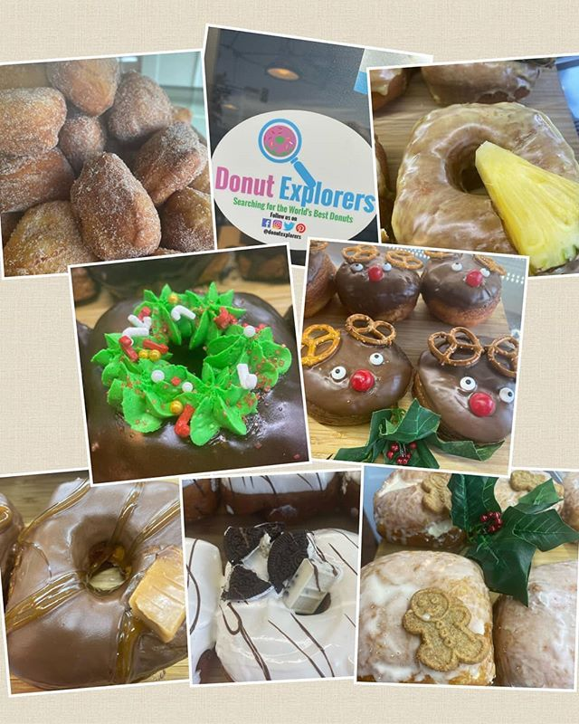 Christmas donut collection circle_square_doughnuts Good
