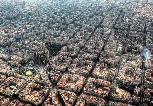 The Design Of Eixample, Barcelona.