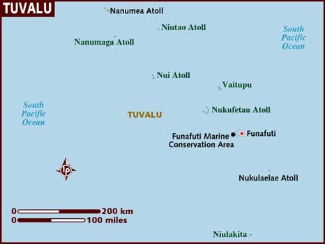 Tuvalu formerly known as the Ellice Islands is a Polynesian island