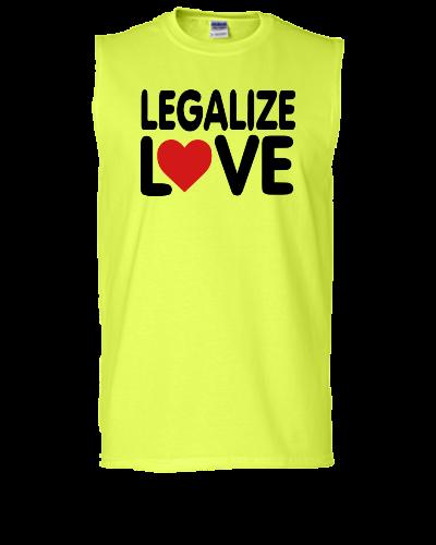 LEGALIZE LOVE - Sleeveless T-shirt