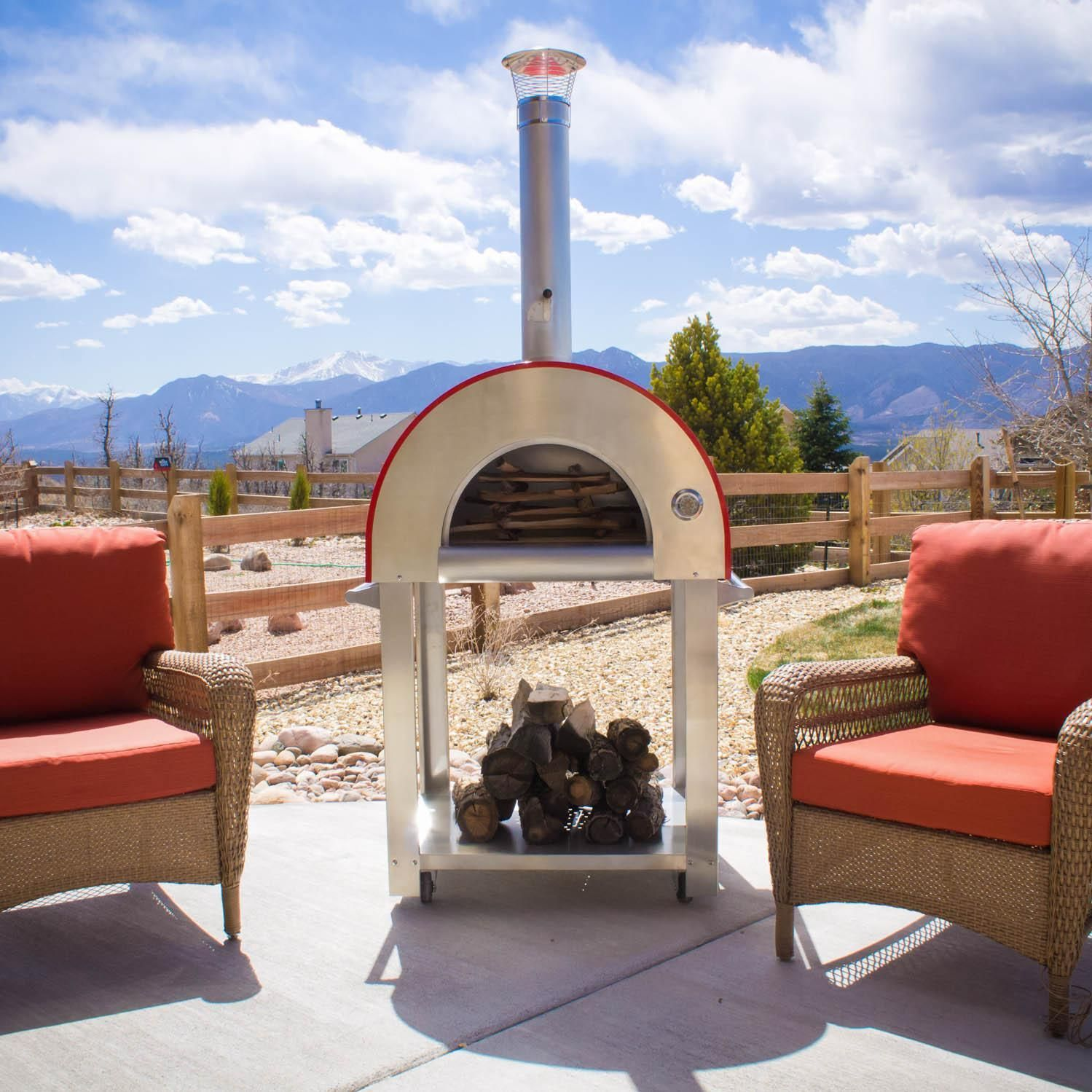 ... Bella Outdoor Living Medio C28 Pizza Oven Front Patio Church ...