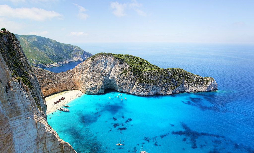 Greece Bay Beach 4k Hd Wallpaper Tropical Places To Visit Best Tropical Vacations Secluded Beach
