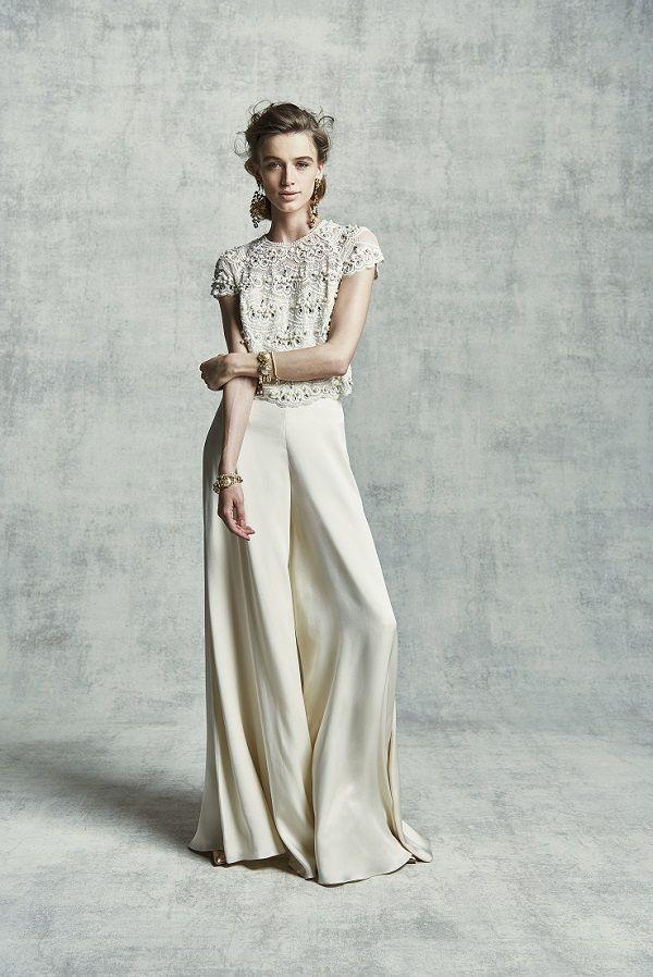 パンツスタイルのウエディングドレスが注目を集める理由とは エキサイトニュース 結婚式 ファッション パーティードレス パンツスタイル 結婚式 パンツスタイル