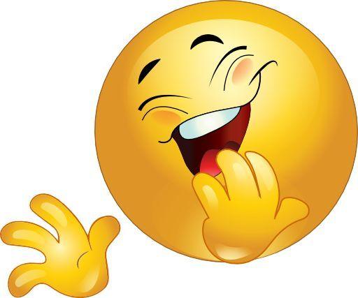 Smiley lacht tränen animiert