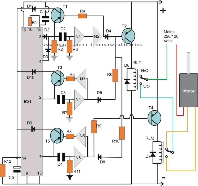 a54abd05e65454ff6f66c94d8c4e7114 washing machine motor agitator timer circuit homemade circuit washing machine motor wiring diagram at soozxer.org