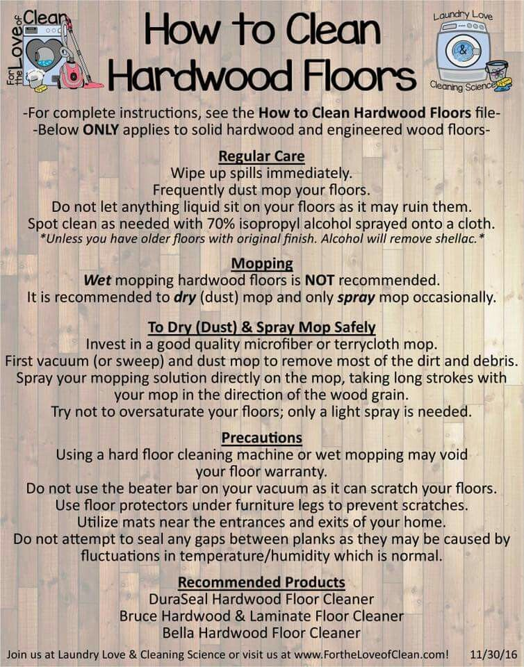 Hard wood (With images) Clean hardwood floors