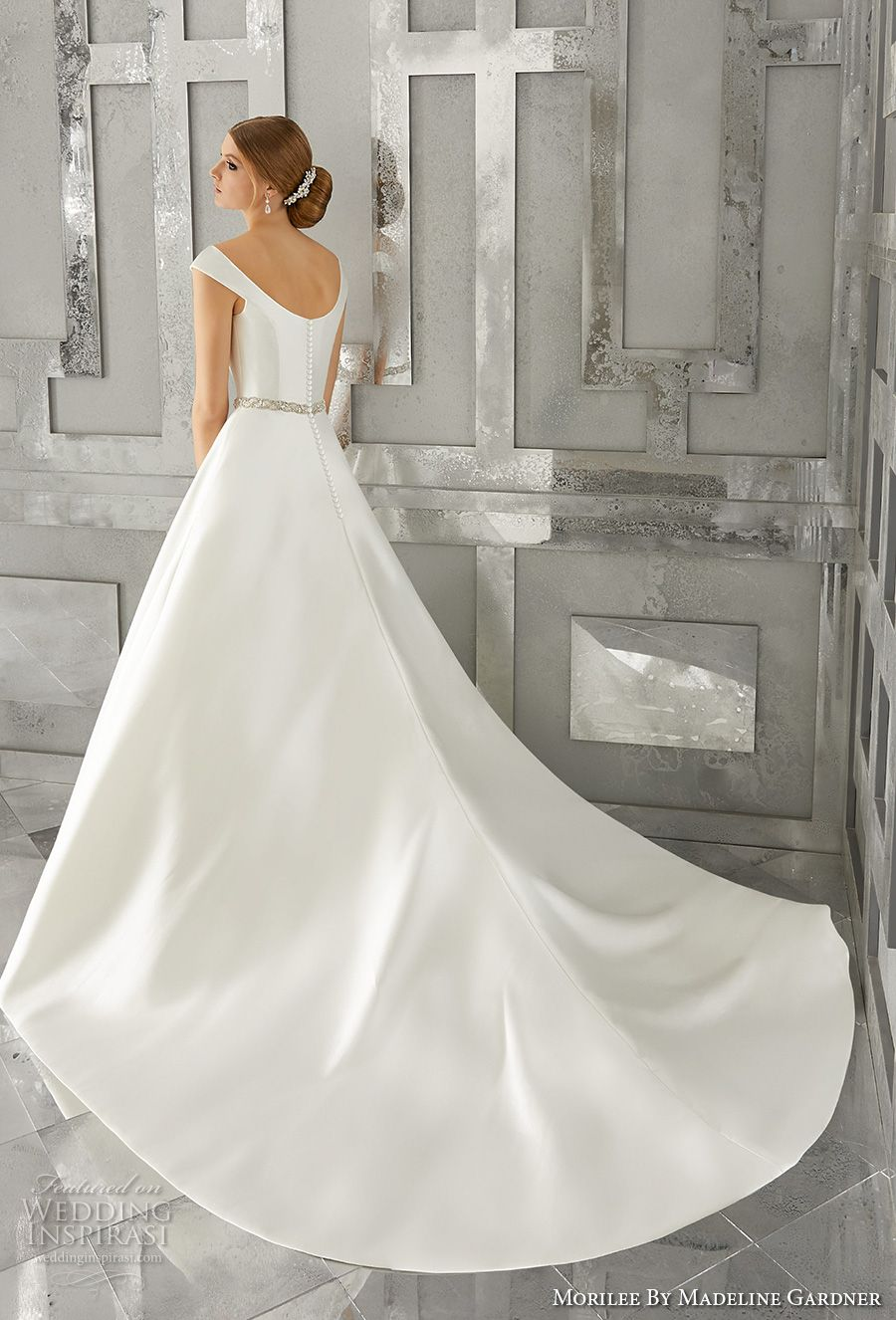 Morilee By Madeline Gardner Fall 2017 Wedding Dresses Wedding Inspirasi Mori Lee Wedding Dress Wedding Dress Styles Summer Wedding Dress Beach [ 1326 x 900 Pixel ]
