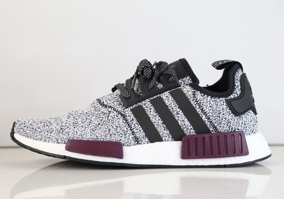 1bc6c806253eb adidas NMD Reflective Black Maroon Champs Exclusive