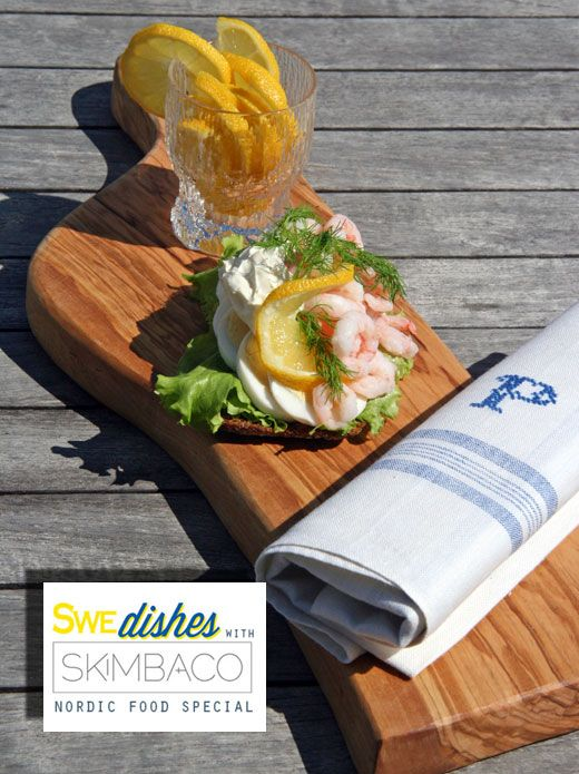 Danish Sma Rrebra D Open Faced Shrimp Sandwich At Skimbacolifestyle Com Denmark Food Scandinavian Food Danish Food