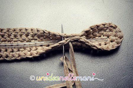 Come Fare Manici Per Borse In Fettuccia Crochet Ideas Purses