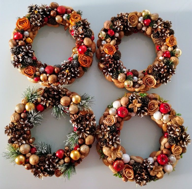 Wianki Bozonarodzeniowe Christmas Diy Christmas Decorations Christmas Wreaths