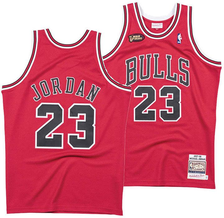 brand new 9dc99 06f33 Men's Michael Jordan Chicago Bulls Authentic Jersey ...
