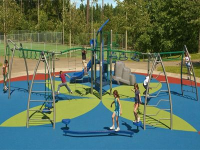 Poured Rubber Playground Surface Thermal Plastic Vulcanized Tpv