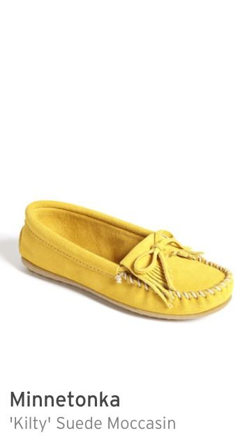 Just bought these, in LOVE. Mustard Minnetonka moccasins  Nordstrom 40$