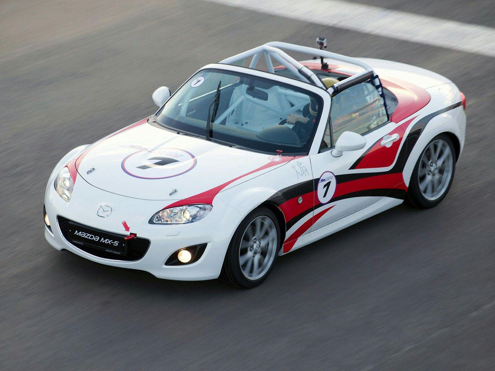 Mazda MX-5 GT race car 2011 - Mad 4 Wheels   Mazda Racing ...
