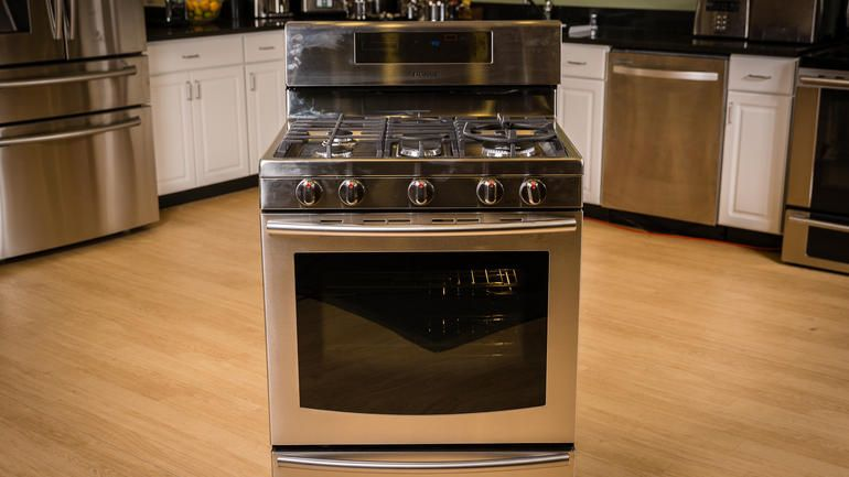 Samsung Gas Range With True Convection Nx58f5700 Review Cnet