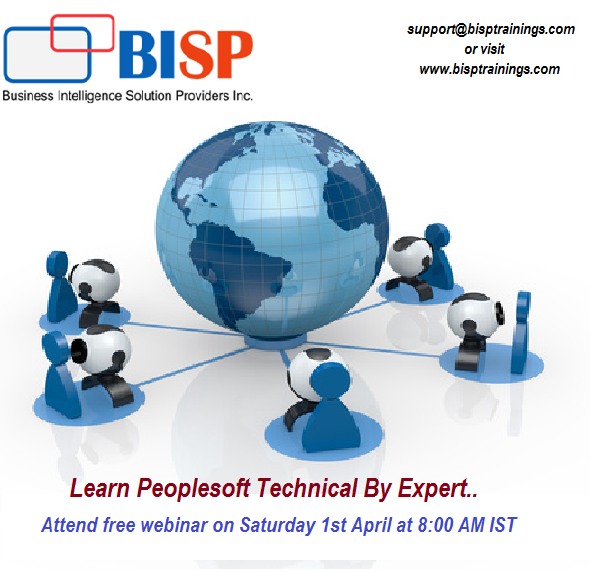 Learn peoplesoft Technical by Expert.. Attend free webinar on ...
