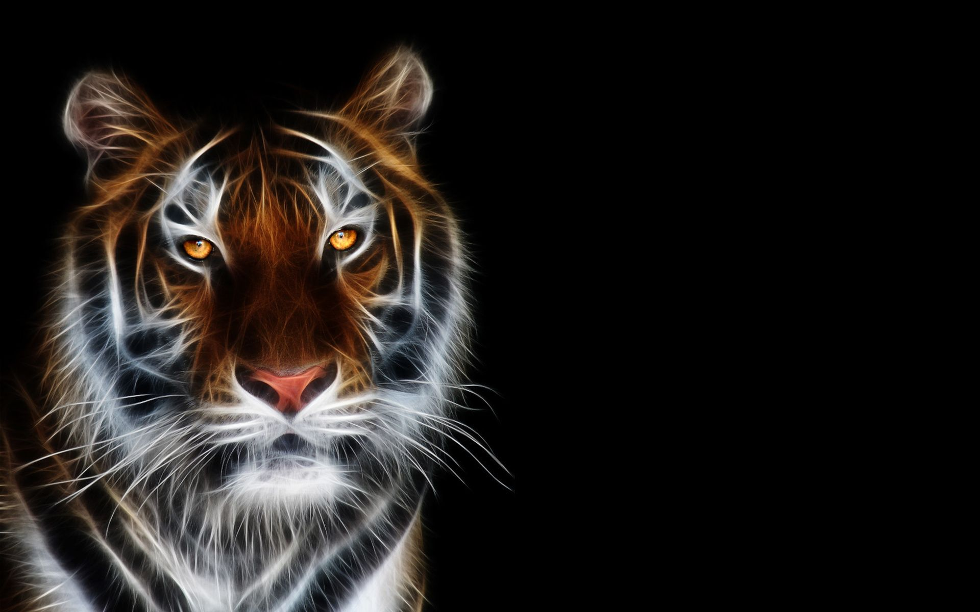 3d Tiger Animals Hd Wallpapers Idee Pinterest Tiger Wallpaper