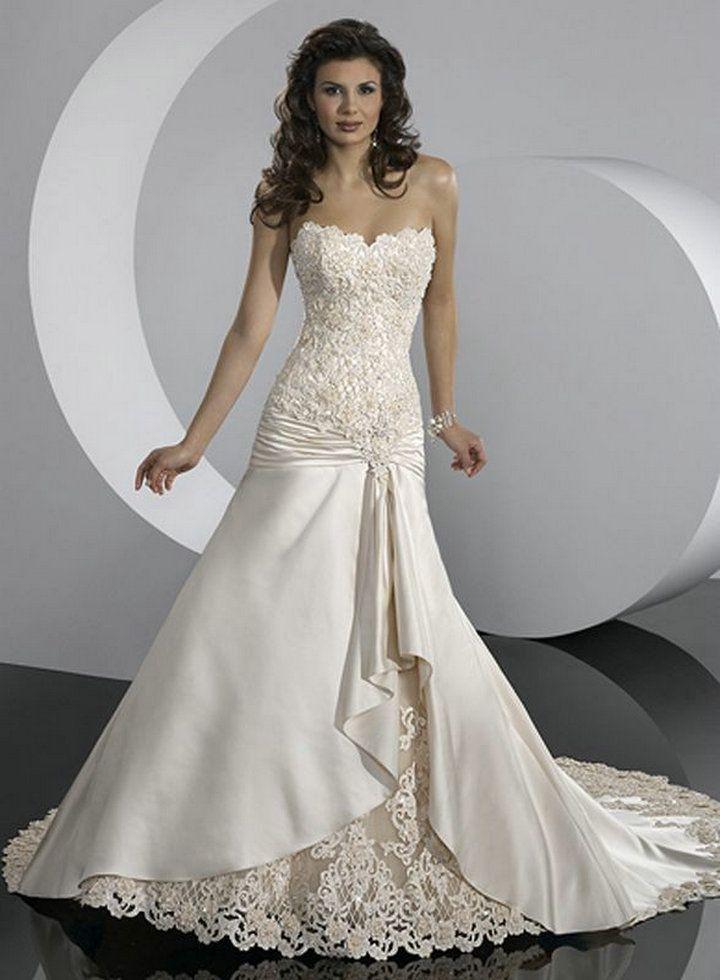 Vestidos de novia con corset y encaje 5 | Todo matrimonio ...