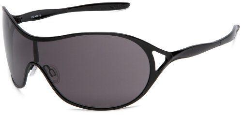 Oakley Women\u0027s Deception Metal Sunglasses,Satin Black Frame/Warm Grey Lens,One  Size