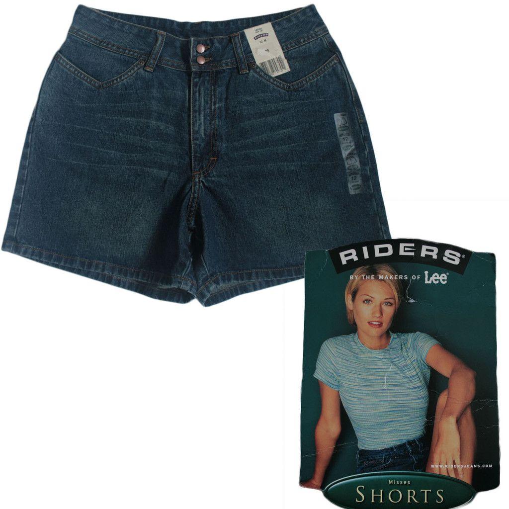 BNWT Lee Riders Blue Denim Summer Shorts Festival Hotpants Medium UK 1 – CheapAndTrendy
