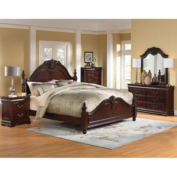 "Fancy Bedroom Sets Magnificent Westchester"" 6Piece Queen Bedroom Set  Bedroom Furniture Review"