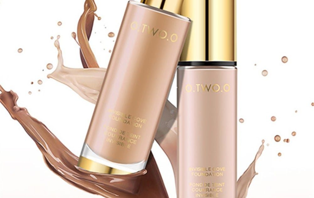 O Liquid Foundation Invisible Full Coverage Make Up Concealer Whitening Moisturizer Waterproof Makeup Foundation 30ml