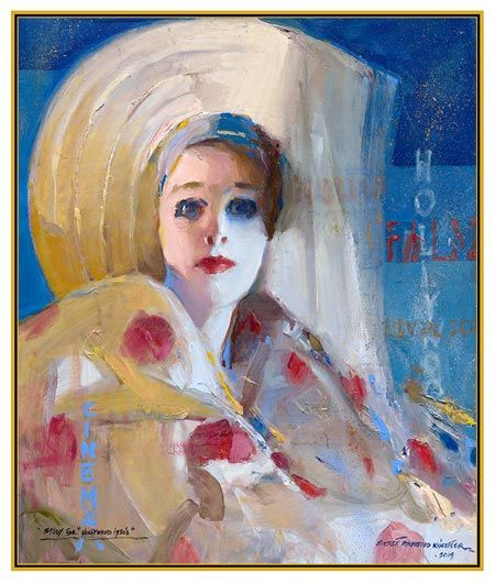 Fine Art Connoisseur - Everett Raymond Kinstler Paints Hollywood