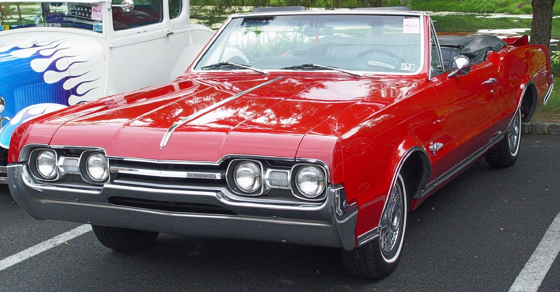 1967 Olds Cutlass Supreme Can You Say Gorgeous