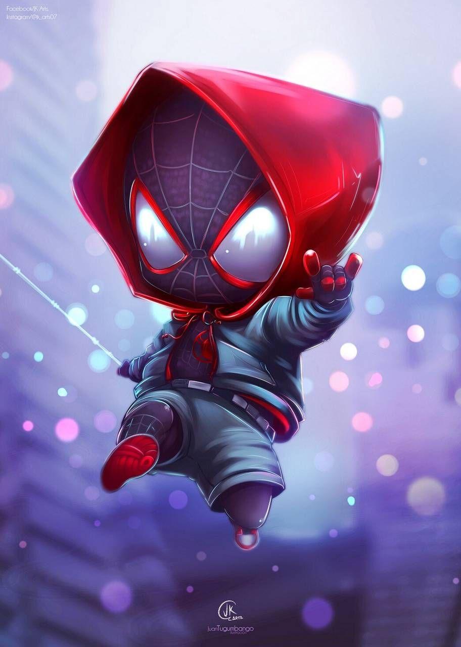 SpiderChibi wallpaper by SantiagoSG22 - f50b - Free on ZEDGE™