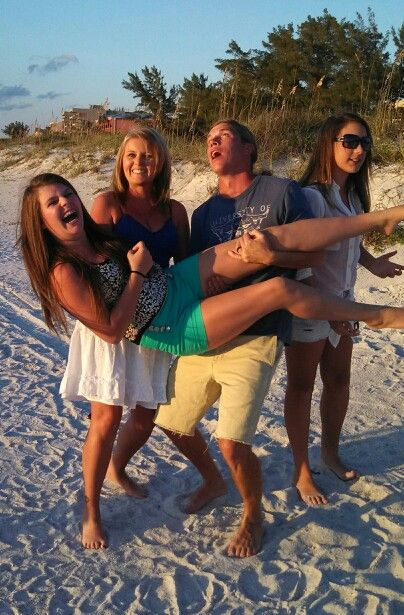 Funny Family Beach Photography