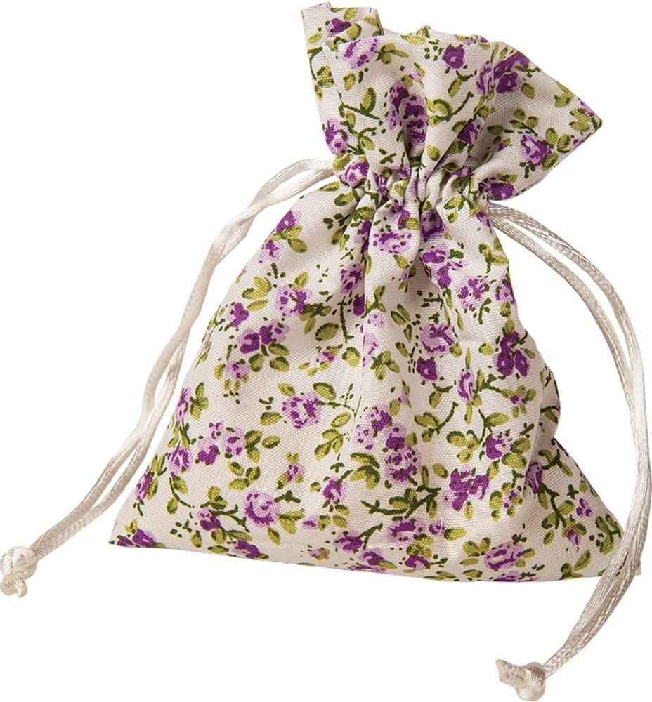 Purple Small Drawstring Bag, Drawstring Sack, Cotton Pouches ...