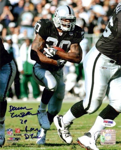 "Darren McFadden Autographed 8x10 Photo Oakland Raiders ""Run DMC"" PSA/DNA Stock"
