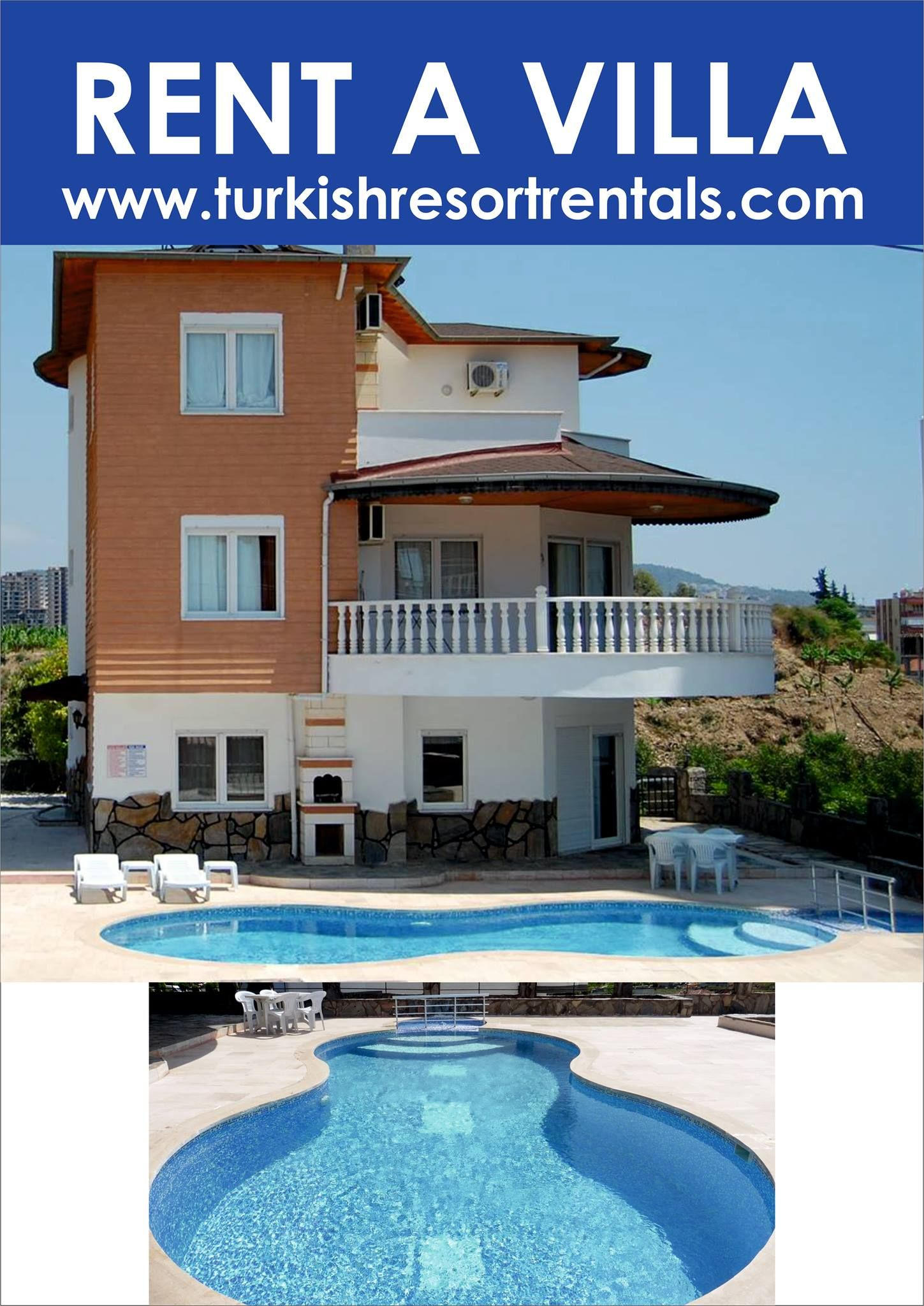 Luxury Holiday Villa With Pool Alanya Coast Turkey Luxury Holiday Villa To Rent With Private Pool