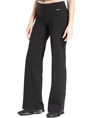 eeea7fdd3d2be Nike Pants, Legend 2.0 Dri-FIT Cotton Bootcut Active - Activewear - Women -