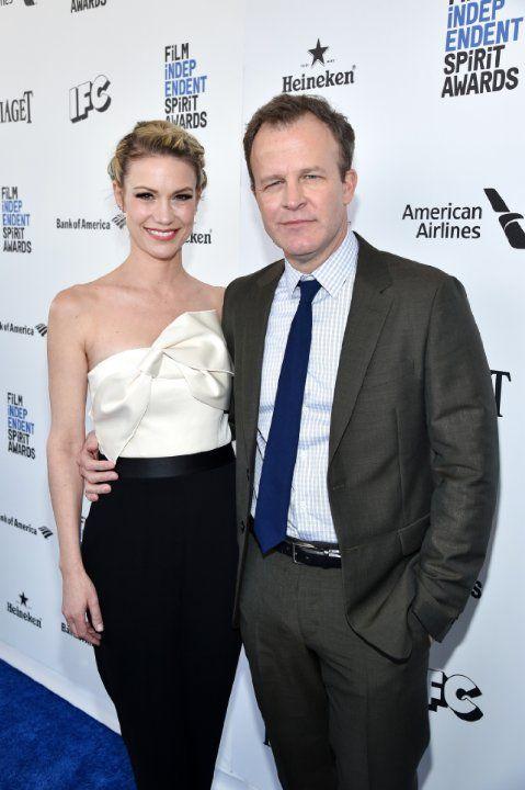 Wendy McCarthy and Tom McCarthy, director of Spotlight