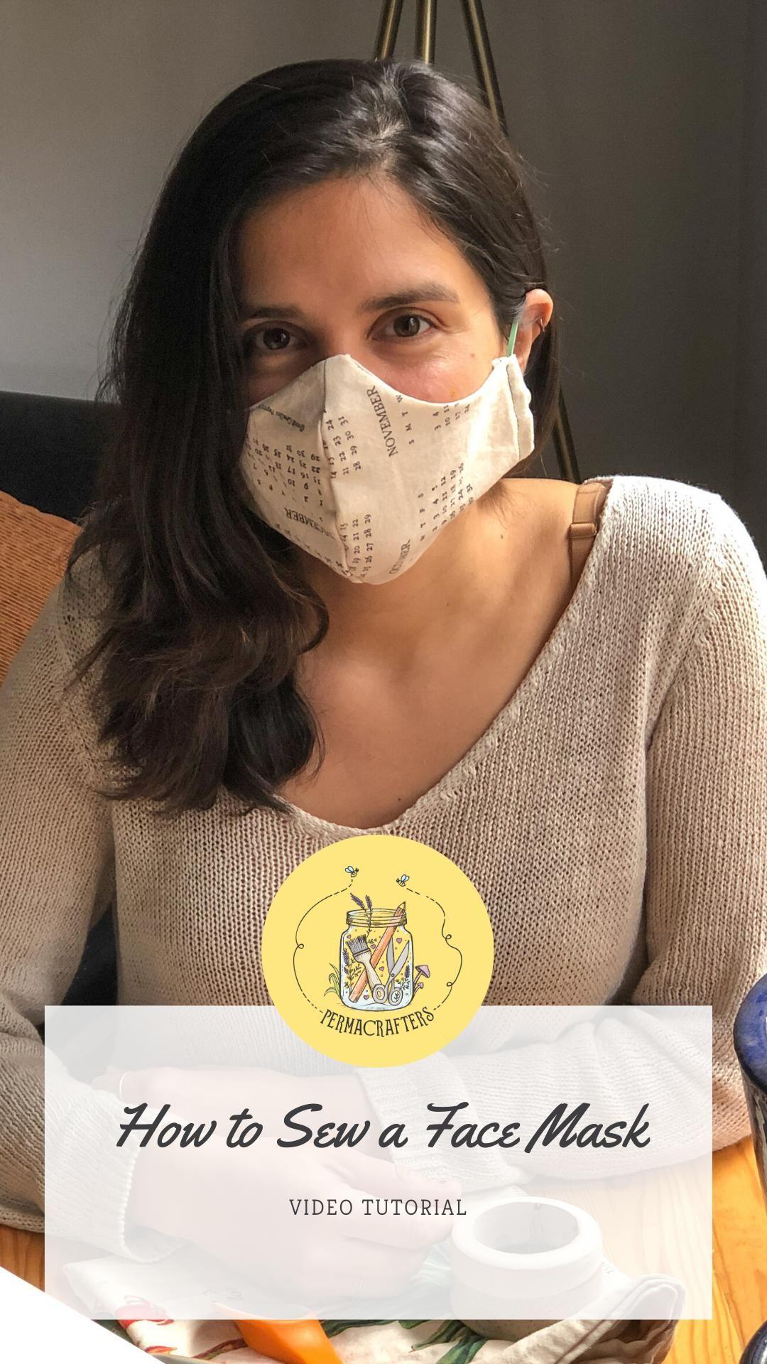 How to Sew a Face Mask to Slow the Spread of COVID-19